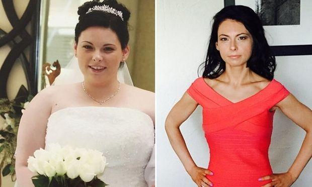 31χρονη έχασε 40 κιλά κάνοντας δύο πράγματα!