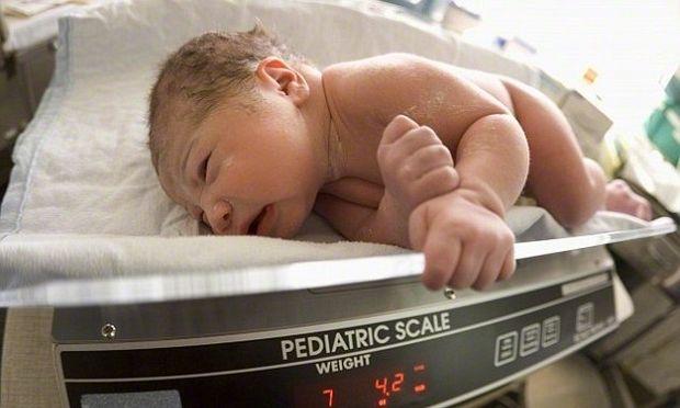 Πόσο βάρος πρέπει να παίρνει το μωρό;