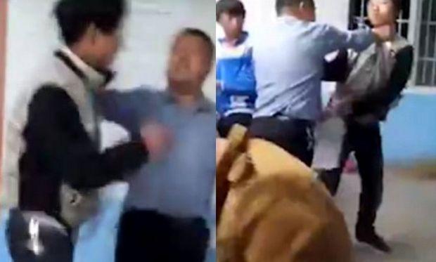 Μαθητές ξυλοκοπούν τον καθηγητή τους μέσα στη σχολική αίθουσα. Δείτε το λόγο (βίντεο)