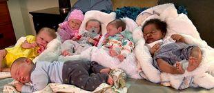 Έχει επτά μωρά αλλά η είδηση δεν είναι αυτή. Δείτε ποια είναι (βίντεο)