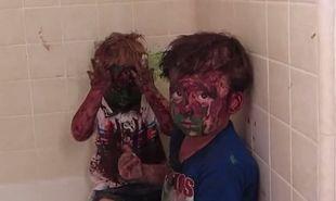 Τα αδελφάκια έχουν «μπλέξει» άσχημα. Ποια όμως είναι η αντίδραση του μπαμπά τους; (βίντεο)