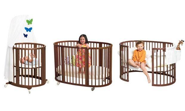Stokke® Sleepi™-Το οβάλ κρεβάτι