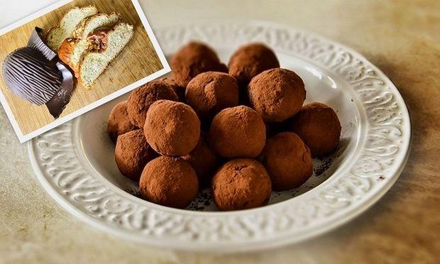 Τρουφάκια σοκολάτας με πέντε μόνο υλικά και ότι μας περίσσεψε από το Πάσχα από τον Γιώργο Γεράρδο