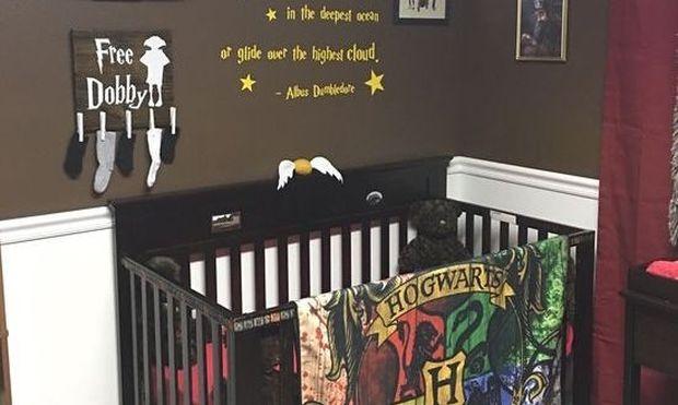 Αυτό το παιδικό δωμάτιο με θέμα Harry Potter θα σας πάρει τα μυαλά! (εικόνες)