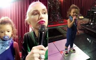 Ο γιος της Gwen Stefani είναι γλύκας.  Ακούστε τον να τραγουδά-Θα λιώσετε! (βίντεο)
