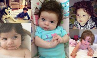 Αστείες εικόνες που θα σας φτιάξουν τη μέρα: Μωράκια με πολλά μαλλιά
