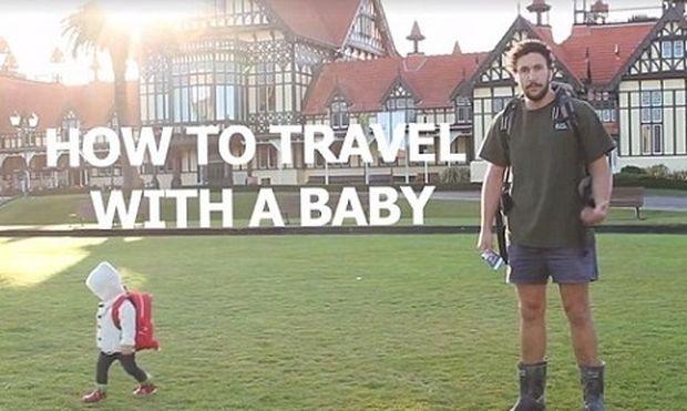 Πώς να ταξιδέψετε παντού με το μωρό σας-Εναλλακτικές προτάσεις από ένα μπαμπά (απολαυστικό βίντεο)
