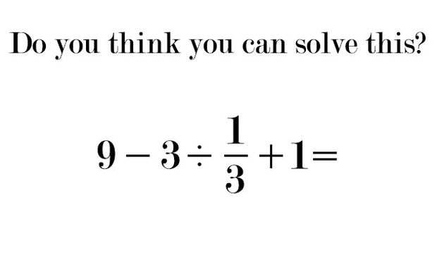 Η μαθηματική πράξη που τρέλανε το διαδίκτυο! Εσείς, γνωρίζετε την απάντηση;