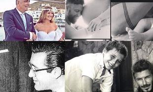 Πώς γιόρτασαν οι διάσημοι μπαμπάδες την ημέρα του Πατέρα (εικόνες)