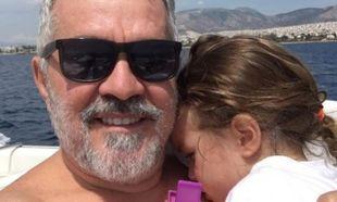 Γιώργος Λύρας: Η τρυφερή φωτογραφία με την κορούλα του στο instagram