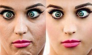 Δείτε διάσημες γυναίκες πριν και μετά το photoshop (εικόνες)