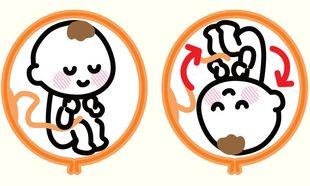 Τοκετός: Πότε τα μωρά «παίρνουν» θέση με το κεφάλι προς τα κάτω
