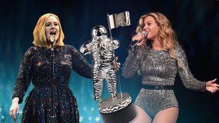 Adele εναντίον Beyoncé. Ποια είναι βασίλισσα της μουσικής οθόνης;