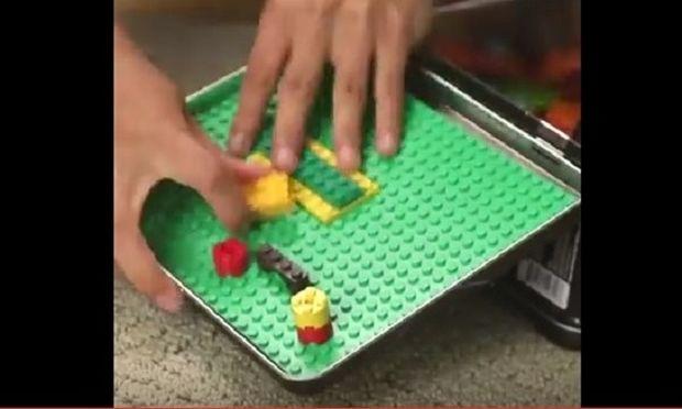 Φτιάξτε το τέλειο κουτί Lego για να παίζουν όπου κι αν βρίσκονται (video)