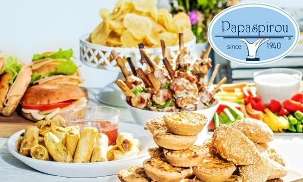 Back2school-Back2parties με -10% έκπτωση στους αναγνώστες του Mothersblog από το νέο λαχταριστό menu του Παπασπύρου