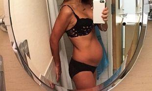 Μας δείχνει το σώμα της ένα 24ωρο μετά τη γέννηση του παιδιού της