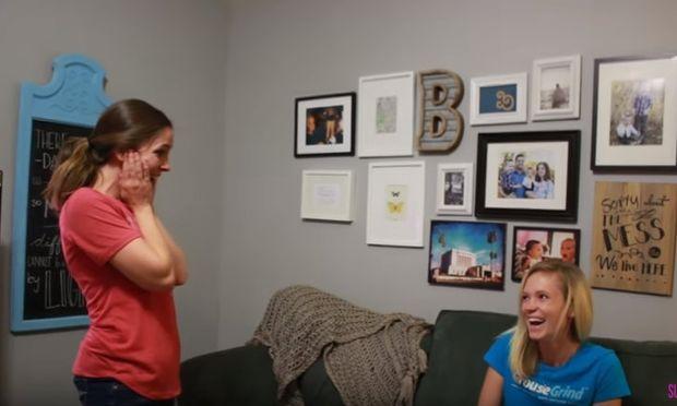 Εκπληξη στην έκπληξη: Δύο αδελφές ανακοινώνουν η μία στην άλλη την εγκυμοσύνη της! (βίντεο)