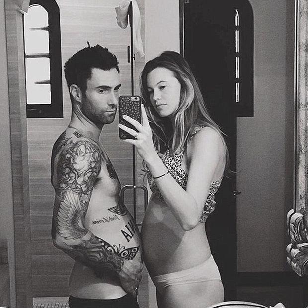Η φωτογραφία της νεογέννητης κόρης του ζεύγους Levine - Prinsloo είναι ό,τι πιο γλυκό θα δεις σήμερα