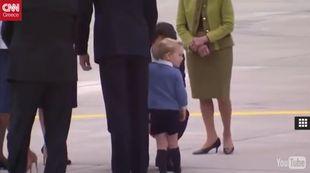 Πρίγκιπας Τζορτζ: Μετά τον Ομπάμα το νήπιο του Μπάκιγχαμ σνόμπαρε και τον Τζαστίν Τριντό