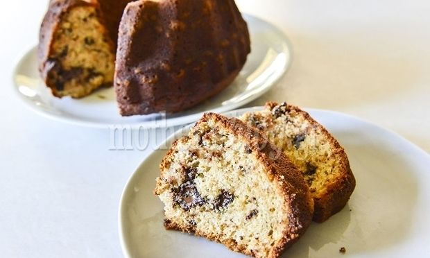 Αφράτο κέικ αχλάδι με σοκολάτα από τον Γιώργο Γεράρδο