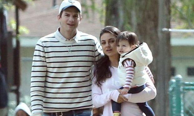 Ashton Kutcher - Mila Kunis: Η κόρη τους έγινε 2 χρονών!