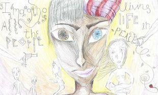 Μία 14χρονη από τα Γιαννιτσά κέρδισε το πρώτο βραβείο σε διεθνή διαγωνισμό ζωγραφικής για την ειρήνη