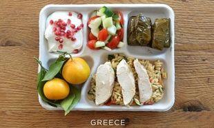 Σχολικά γεύματα παιδιών από εννιά χώρες (φωτό)