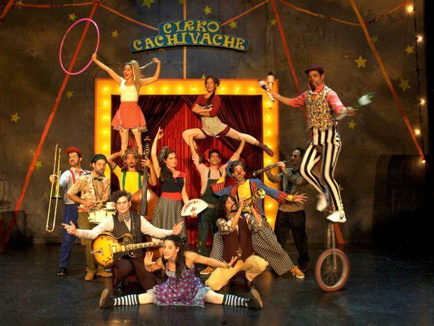 Το Τσίρκο Cachivache παρουσιάζει: «Το όνειρο της Μόλυ» στο Θέατρο Παλλάς