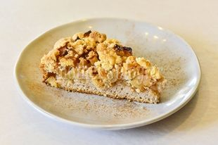 Λαχταριστή συνταγή για Apple Crumble Cake από τον Γιώργο Γεράρδο