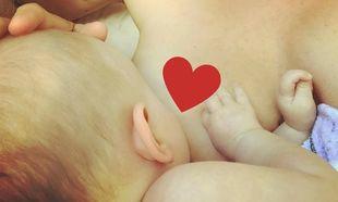 Διάσημη μαμά θηλάζει την κόρη της και δημοσίευσε τη φωτογραφία στα social media