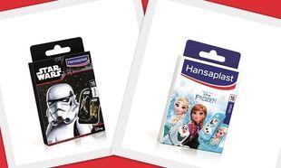 Νέα παιδική σειρά περιποίησης πληγών Hansaplast Star Wars & Frozen