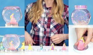 Φτιάξτε χιονόμπαλες με γκλίτερ χρησιμοποιώντας τις αγαπημένες κούκλες των παιδιών σας! (βίντεο)