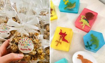 Παιδικό πάρτι γενεθλίων: 14 ιδέες για αναμνηστικά δωράκια (εικόνες)