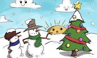 23 χριστουγεννιάτικες χρωμοσελίδες για τα παιδιά σας. Εκτυπώστε τις