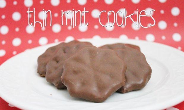Χριστουγεννιάτικο κέρασμα: Λεπτά μπισκοτάκια με σοκολάτα και μέντα!