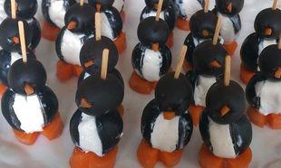 Πιγκουινάκια για Πρωτοχρονιάτικο ορεκτικό!