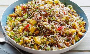 Ρύζι με μάνγκο και κουκουνάρι: Το απόλυτο γιορτινό συνοδευτικό