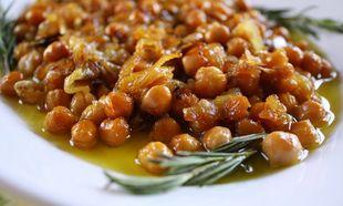 Ρεβύθια στο φούρνο: Πικάντικα και τραγανά!
