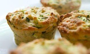 Συνταγή για muffin με κολοκυθάκια και φέτα