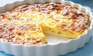 Κις λορέν με ζαμπόν και τυρί, για μικρούς και μεγάλους