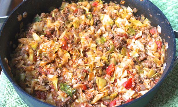 Συνταγή για νόστιμο λαχανόρυζο λεμονάτο με κιμά