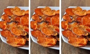 Ψητές, τραγανές γλυκοπατάτες-Νοστιμότερες και από τα τσιπς