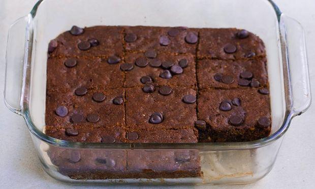 Brownie με σταγόνες σοκολάτας, για αρχάριους!