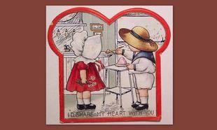 18 ασυνήθιστες κάρτες για την ημέρα του Αγίου Βαλεντίνου