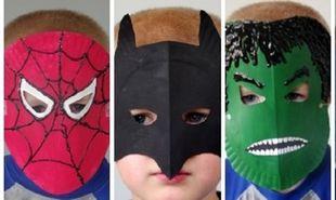 Πώς να φτιάξετε αποκριάτικες μάσκες για τα παιδιά (vid)