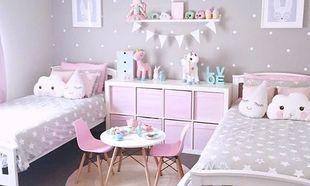 Deco: Παιδικά δωμάτια για κορίτσια