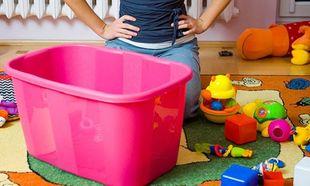 Πρακτικές συμβουλές για το καθάρισμα και τη φύλαξη των παιδικών παιχνιδιών