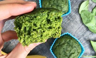 Πεντανόστιμα muffin από σπανάκι! Ιδανικά για τα παιδιά που δεν τρώνε λαχανικά