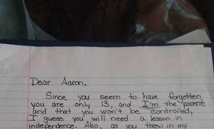 Μαμά ζητά από τον 13χρονο γιο της 717 δολάρια. Ο λόγος θα σας ξαφνιάσει
