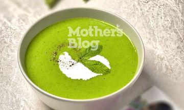 Σούπα φρέσκου αρακά με δυόσμο από τον Γιώργο Γεράρδο